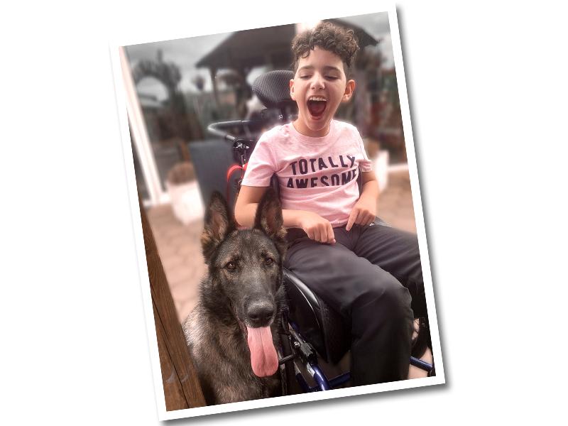 schwarzer_Schäferhund_mit_glücklichen_Jungen_im_Rollstuhl_Caputo_Lippstadt